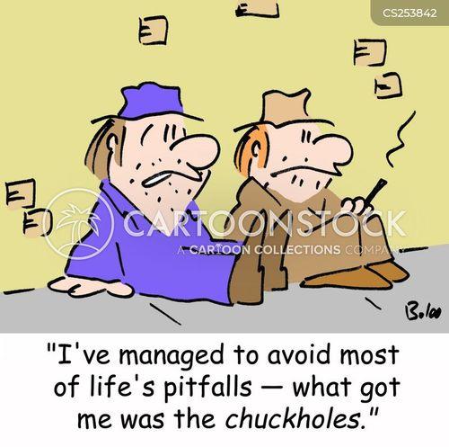 chuckhole cartoon