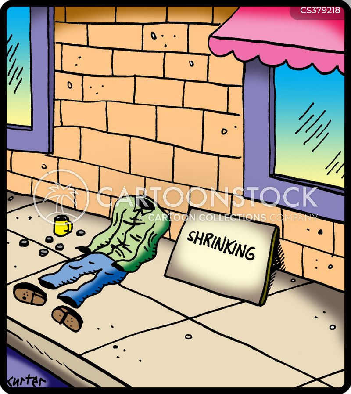 shrinking cartoon