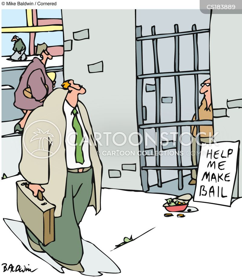 Bail cartoons, Bail cartoon, funny, Bail picture, Bail pictures, Bail image, Bail images, Bail illustration, Bail illustrations