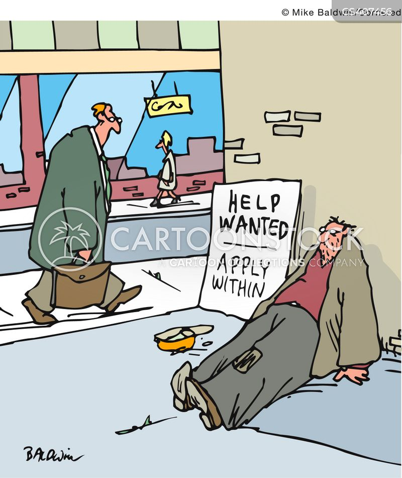 asking for help cartoon