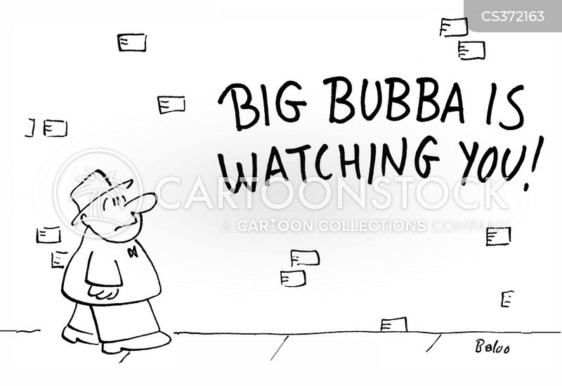 big brother is watching you cartoon