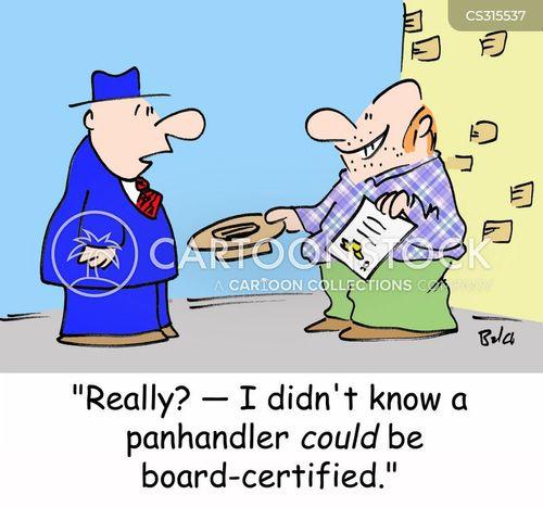 board certified cartoon