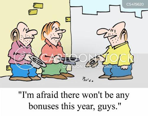 executive bonus cartoon