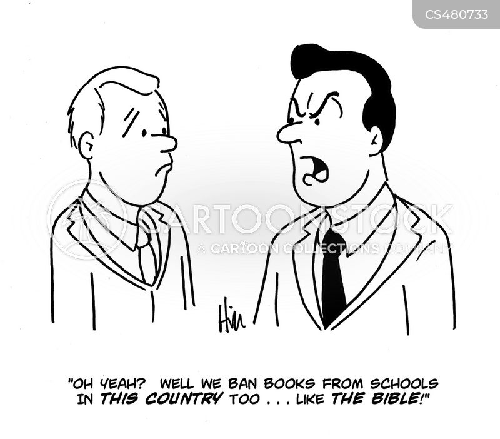 blasphemy cartoon