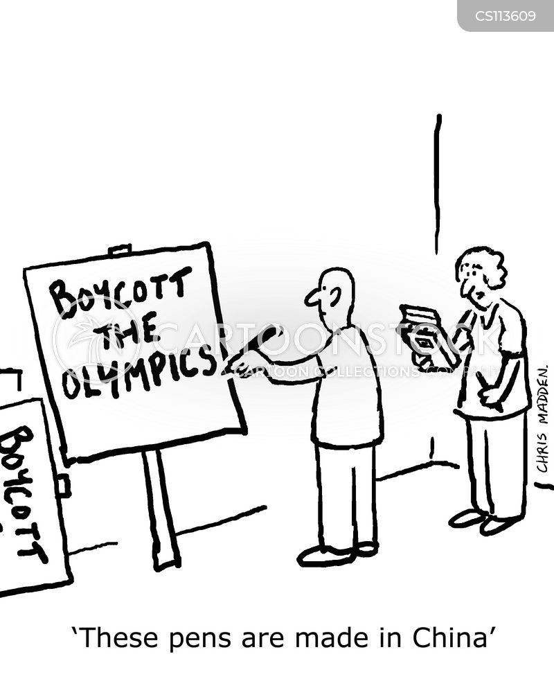 bejing olympics cartoon