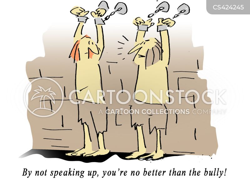 standing up cartoon
