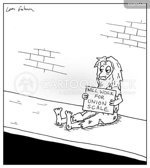 unionization cartoon