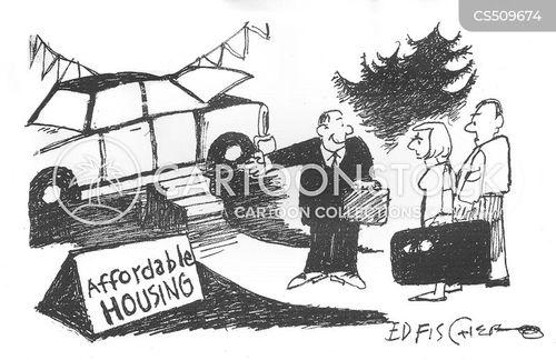 car salespeople cartoon