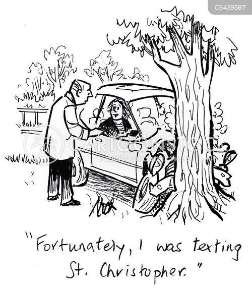 patron saint cartoon