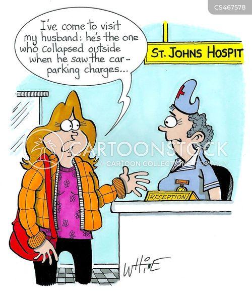 hospital staff cartoon