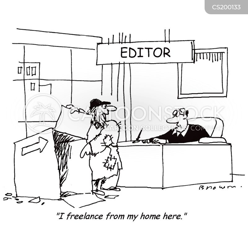 freelancers cartoon
