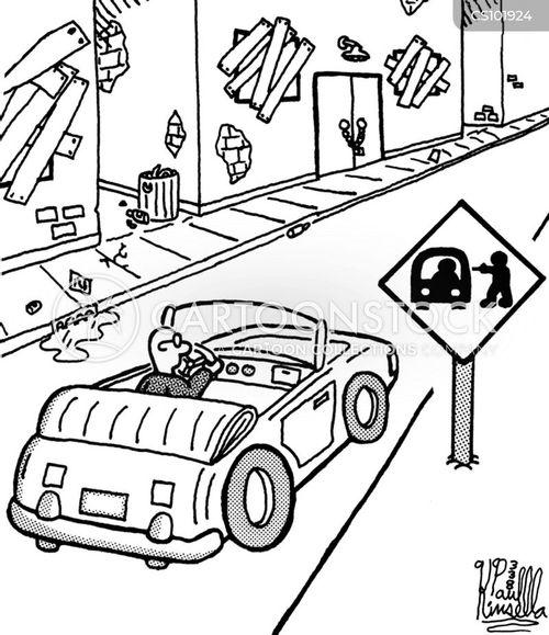 urban decay cartoon