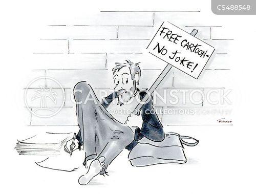 feed the homeless cartoon