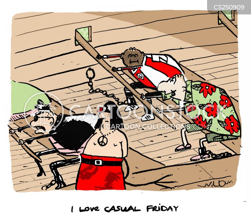 casual days cartoon