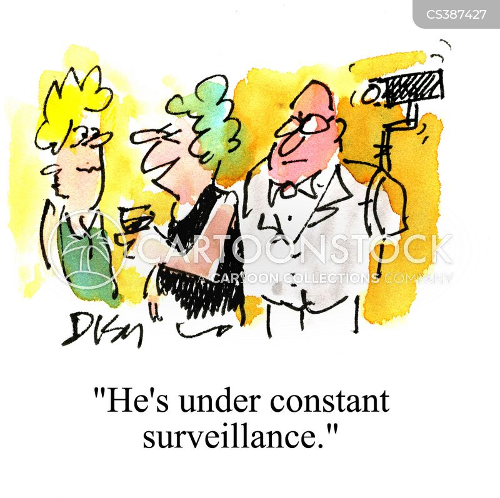 keep an eye cartoon