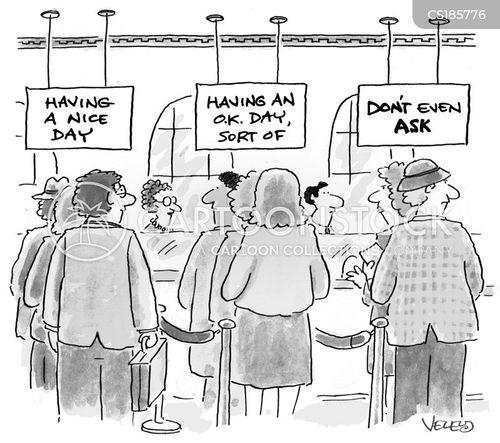 cheerful cartoon