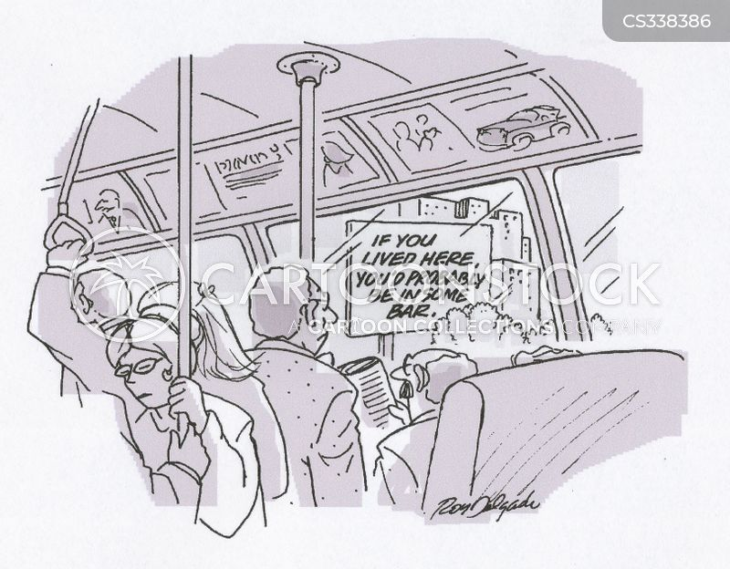 city trains cartoon