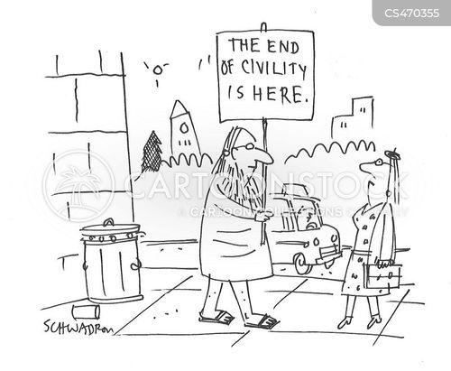polarization cartoon