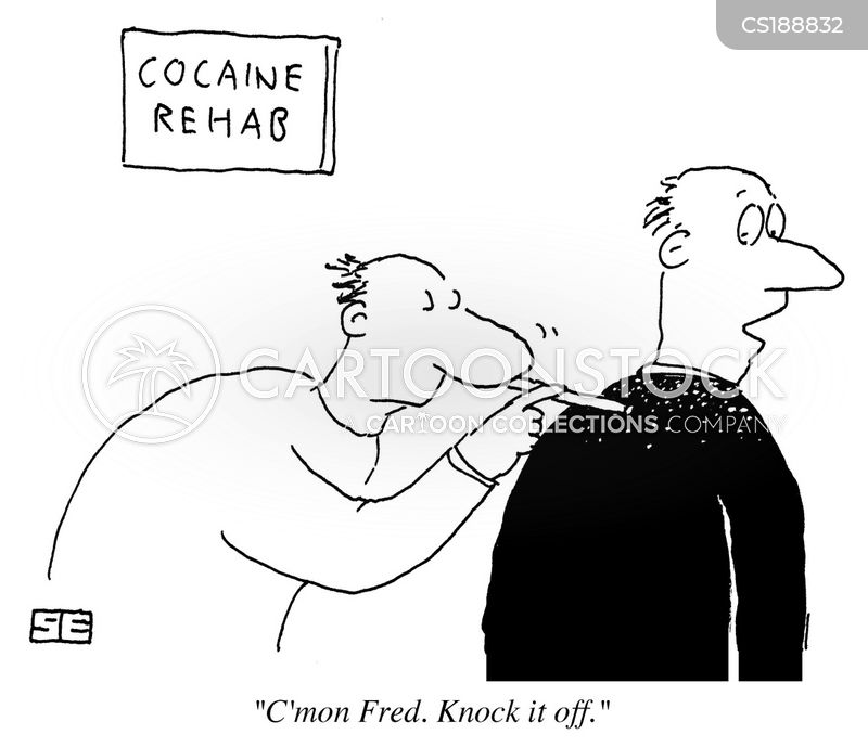 cocaine cartoon