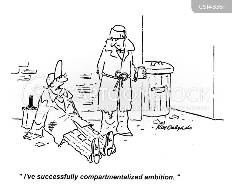 compartments cartoon
