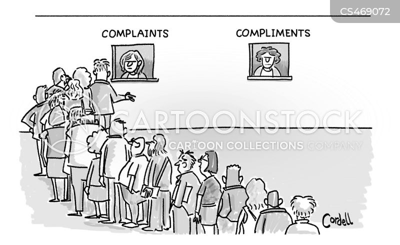 complaints lines cartoon
