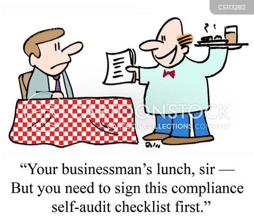 checklist cartoon