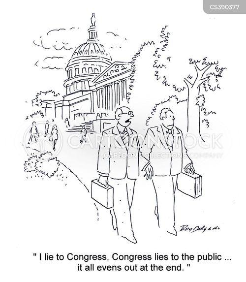 political environment cartoon