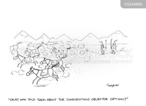 war horses cartoon