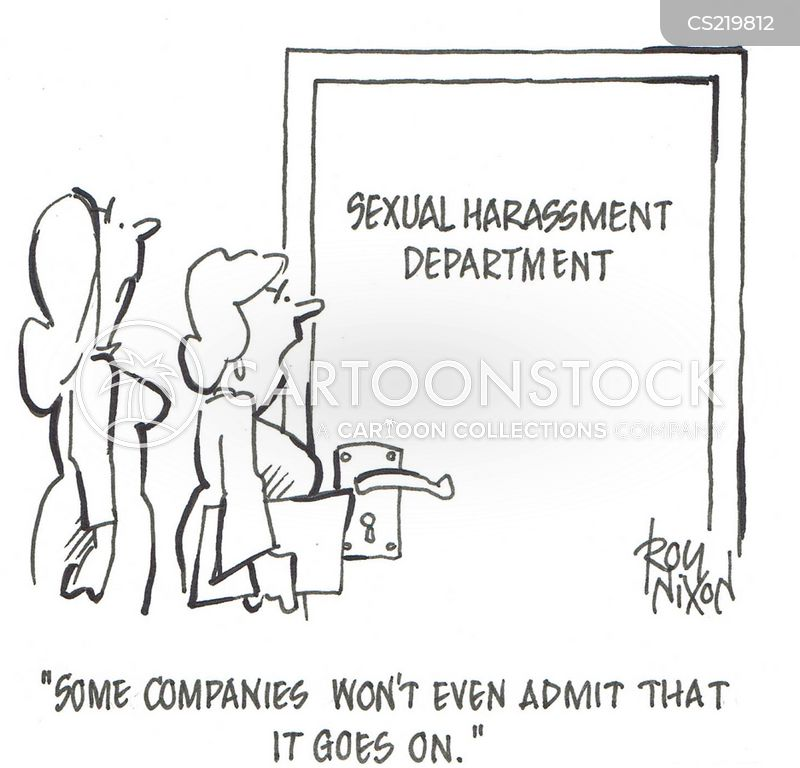 Interesting sexual harassment cases