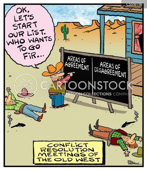 resolves cartoon
