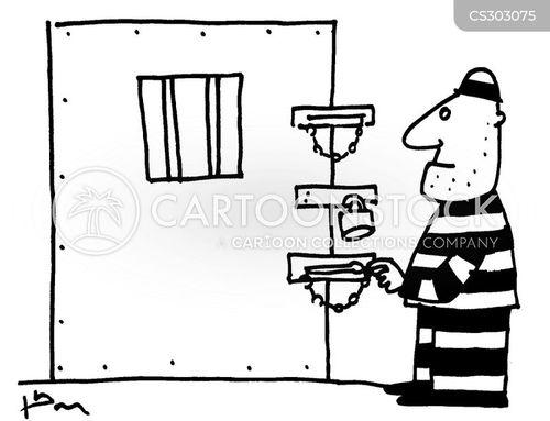 locking cartoon