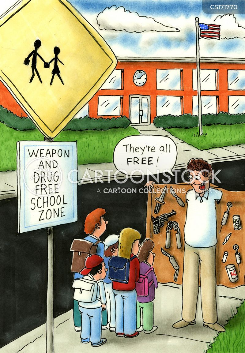 youth crimes cartoon