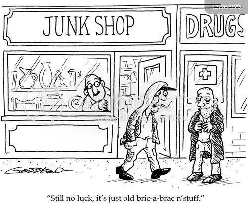 junkshop cartoon