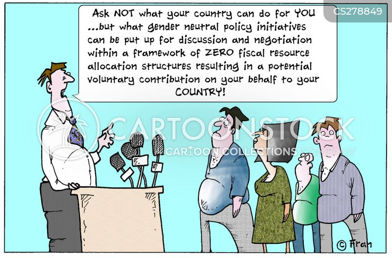 voluntary sector cartoon