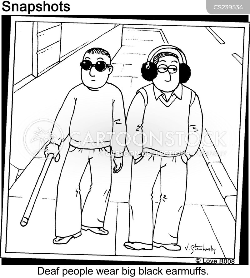 Ear Muff Cartoons and Comics - funny pictures from ...