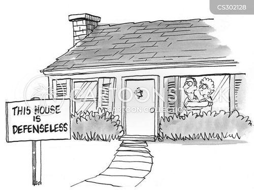 defenseless cartoon