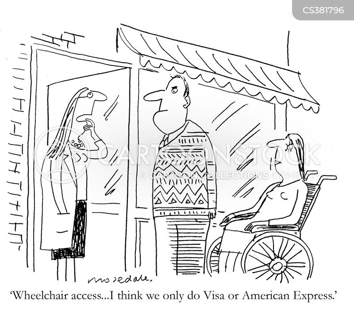 visa cartoon