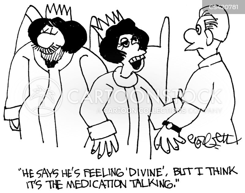 divine kingship cartoon