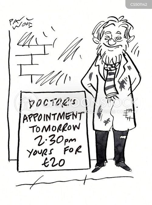 gp surgeries cartoon