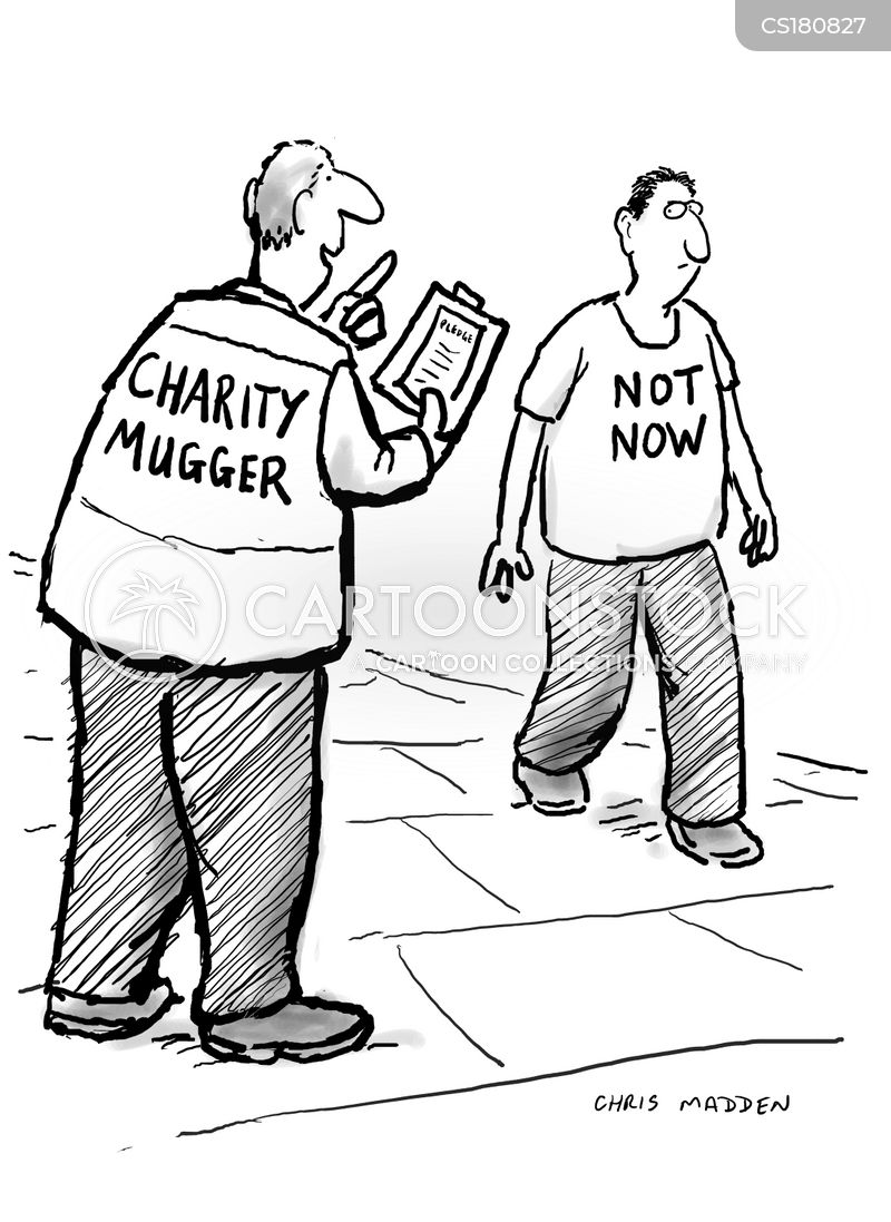 how to play with charity muggers