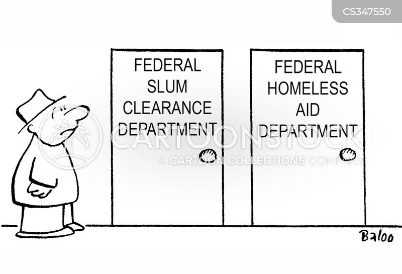 slum cartoon