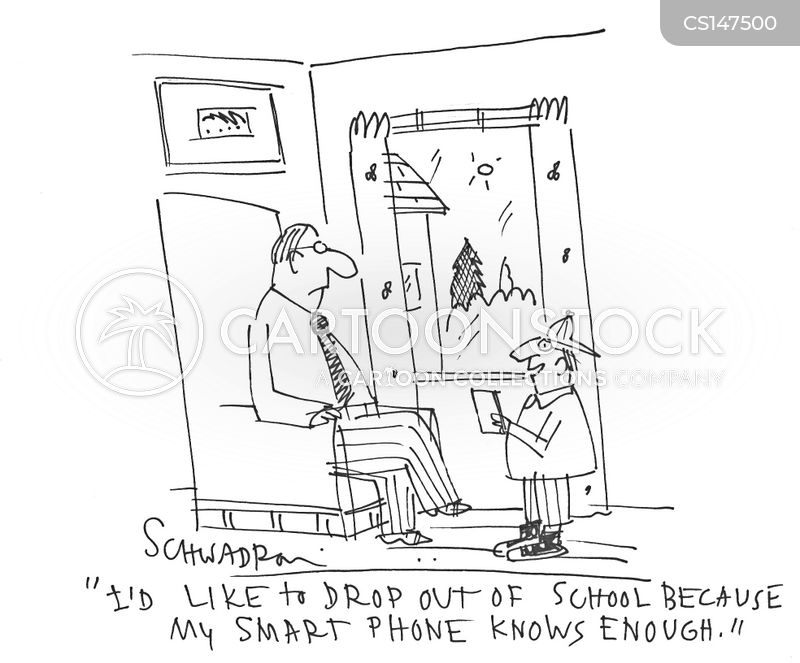 drop outs cartoon