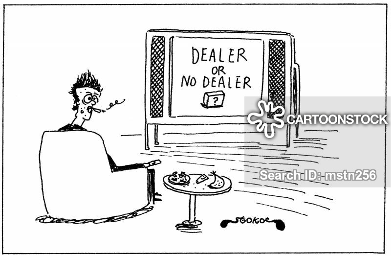 dealing drugs cartoon
