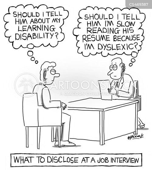 disclosure cartoon
