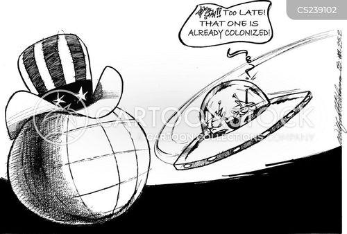 colonized cartoon
