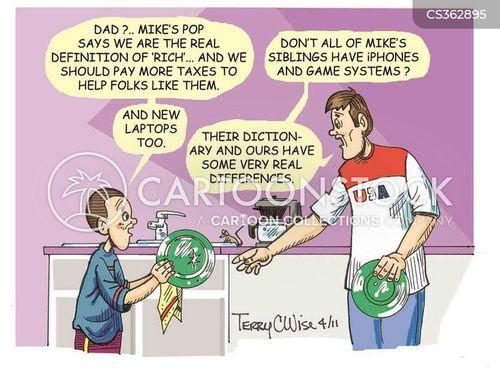 class problems cartoon