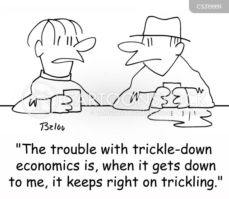 trickle-down cartoon