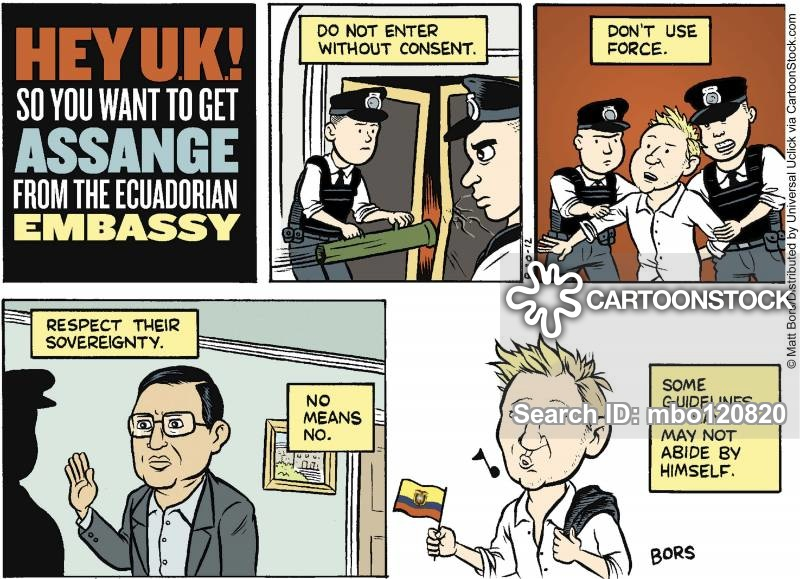 extraditions cartoon