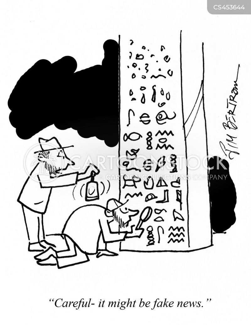 egyptologist cartoon