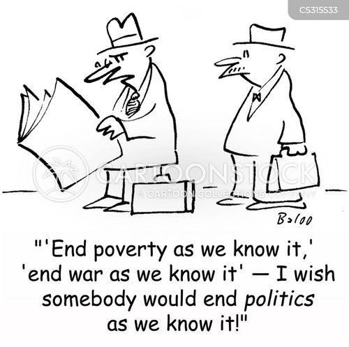 end of the war cartoon